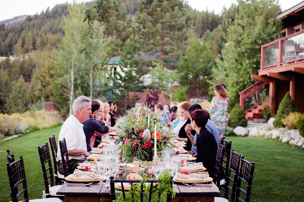 Tannenbaum catering event