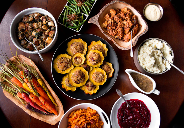 vegan holiday catering