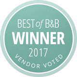 Best of 2017 Borrowed & Blue Winner, Vendor Voted