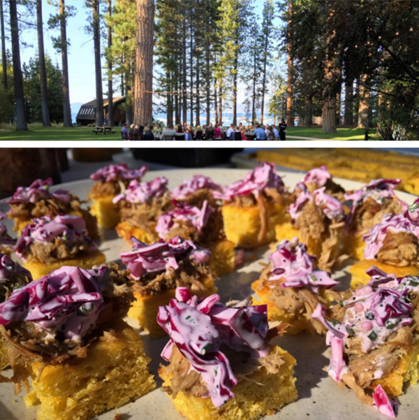 wedding catering in lake tahoe