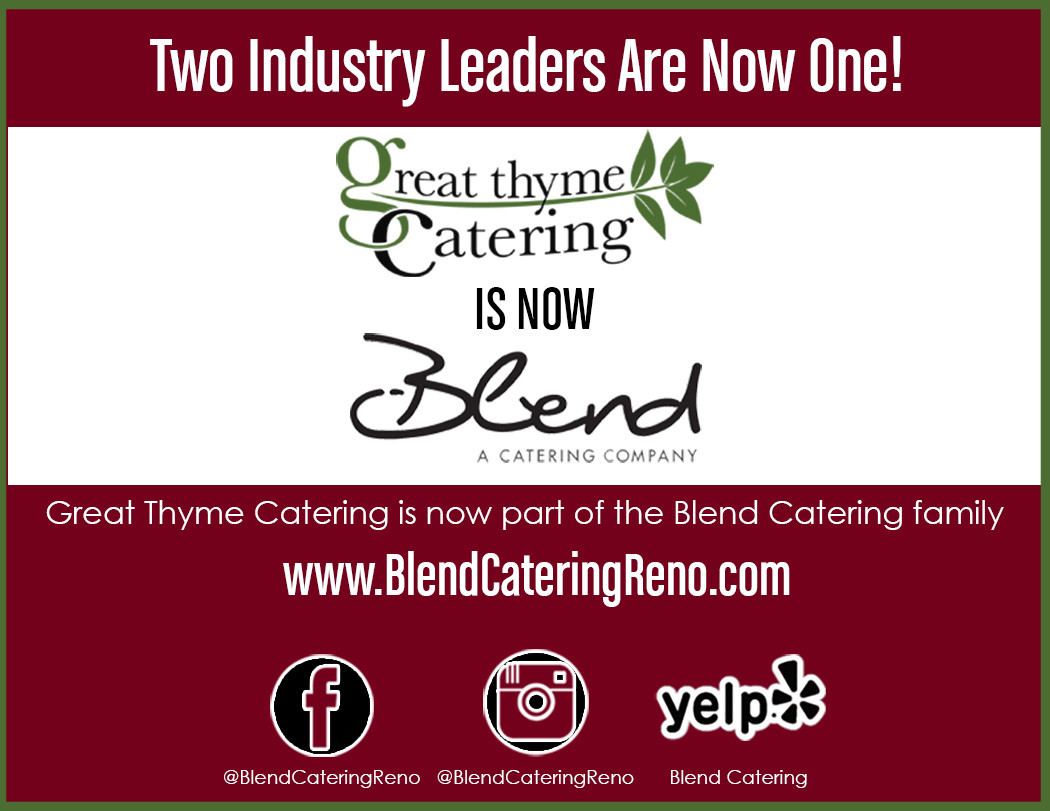 Blend Catering best caterer reno